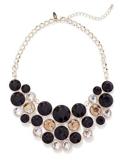 Multi-Stone Bib Statement Necklace - New York & Company