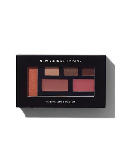 NY&C Beauty - Eye Shadow, Blush & Lip Gloss Palette  - New York & Company