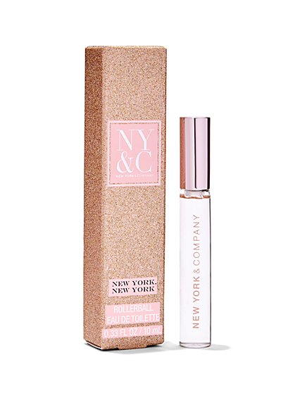 NY&C Beauty - Fragrance Gift Set - New York, New York Eau de Parfum Rollerball  - New York & Company