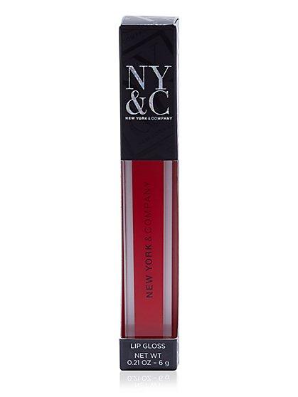 NY&C Beauty - Lip Gloss - Medium Red - New York & Company