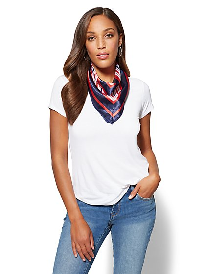 Neckerchief - Stripe - New York & Company