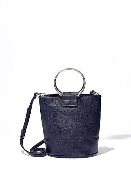 O-Ring Bucket Bag  - New York & Company