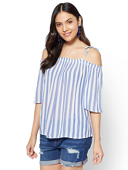 Off-The-Shoulder Blouse - New York & Company