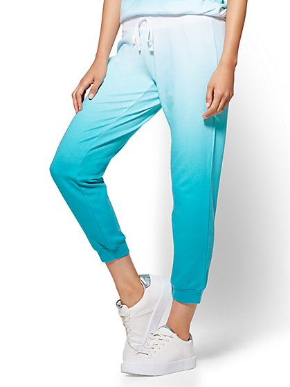 Ombré Cropped Jogger Pant - New York & Company