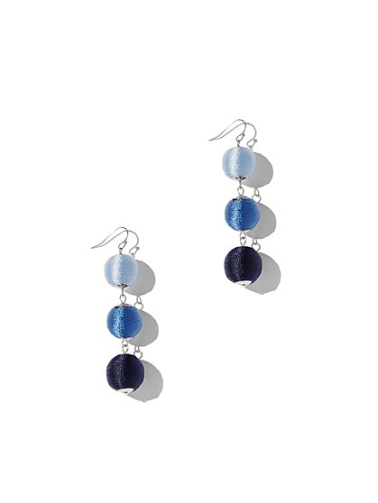 Ombre Spherical Drop Earring - New York & Company