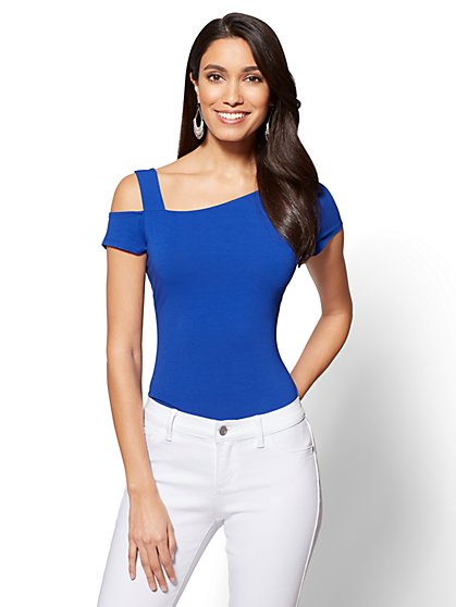 One-Shoulder Tee - New York & Company