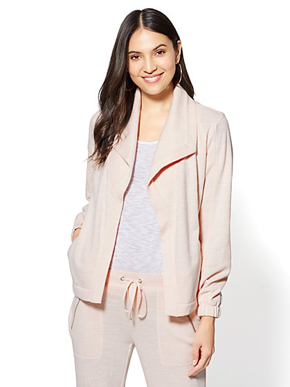 Open-Front Shawl-Collar Jacket - New York & Company