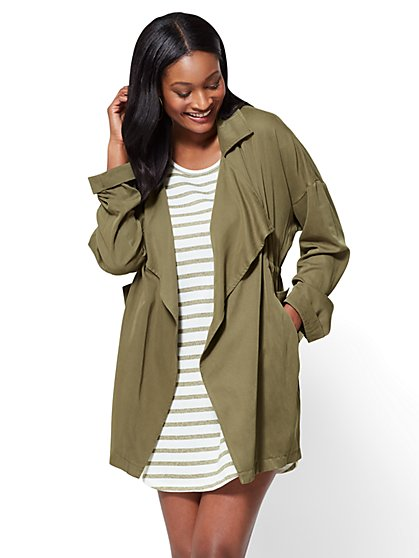Open-Front Soft Jacket - New York & Company
