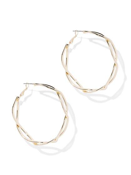 Open-Link Hoop Earring - New York & Company