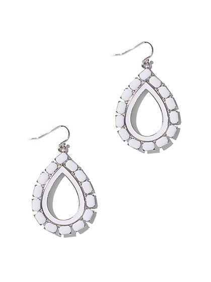 Open Teardrop Earring  - New York & Company