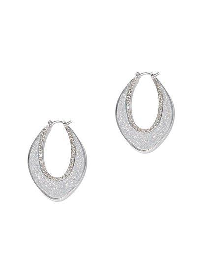 Open Teardrop Earring  - New York & Company