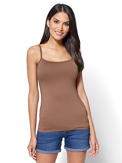 Original BodyShaper Stretch Camisole - Solid - New York & Company