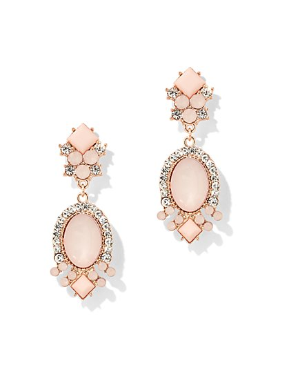 Oval Drop Earring - New York & Company