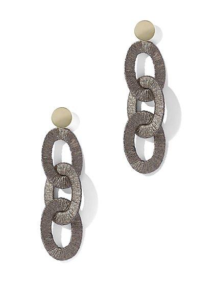 Oval Link Drop Earring - New York & Company