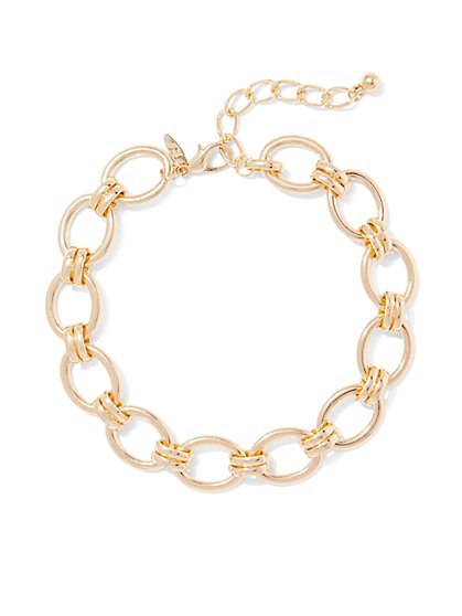 Oval Link Necklace  - New York & Company