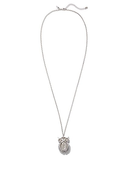 Owl Pendant Necklace  - New York & Company