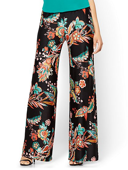 Palazzo Pant - Floral - New York & Company