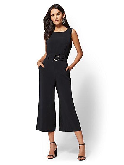 Paperbag-Waist Jumpsuit - New York & Company