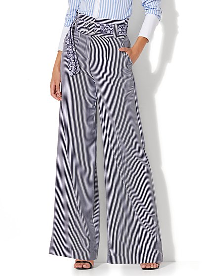 Wide Leg Pants for Women | Loose Fit Pants | NY&C