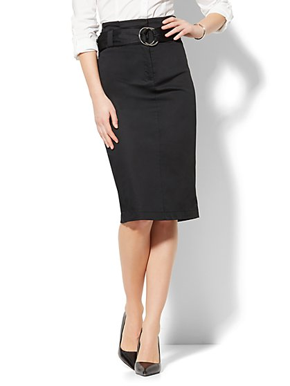 Paperbag-Waist Pencil Skirt - New York & Company