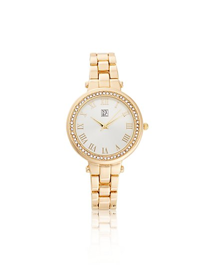 Pavé Link Watch  - New York & Company