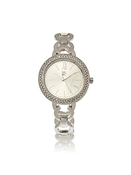 Pave Bezel Watch  - New York & Company