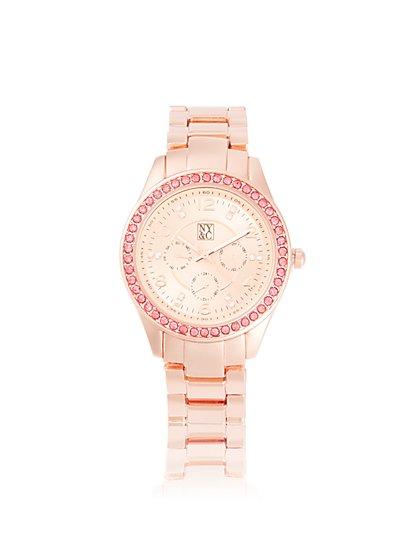 Pave Chronograph Watch - New York & Company