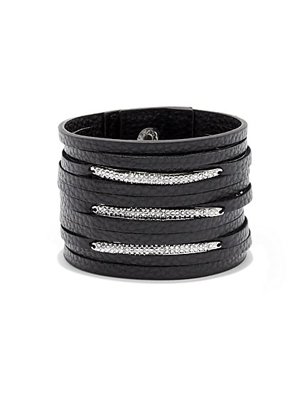 Pave Wrap Bracelet  - New York & Company