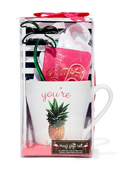 Pineapple Mug Gift Set - New York & Company
