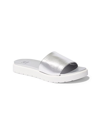 Platform Slide Sandal  - New York & Company