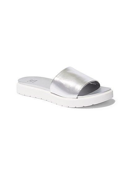 Platform Slide Sandal  - New York & Company