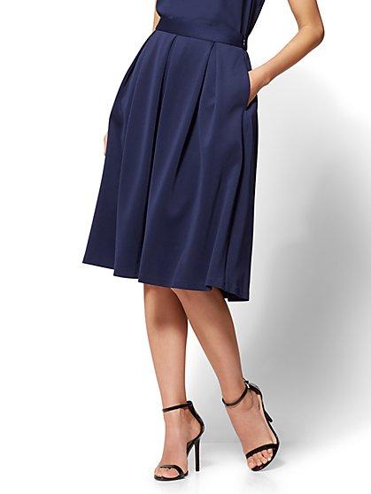 Pleated Full Skirt - New York & Company