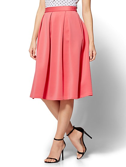 Pleated Full Skirt - New York & Company