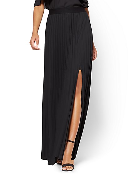 Pleated Maxi Skirt - New York & Company