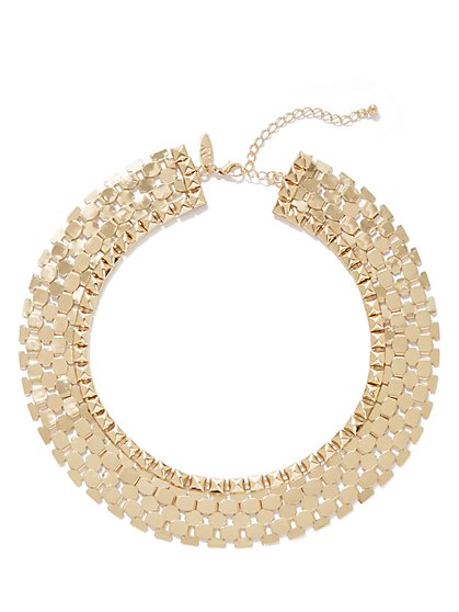 Polished Collar Necklace - New York & Company
