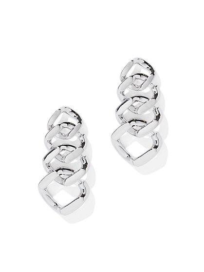Polished Link Drop Earring - New York & Company