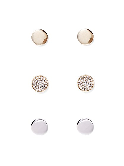 Polished Post Earring Set  - New York & Company