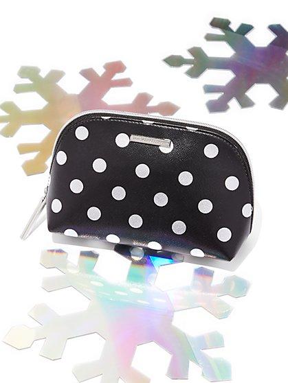 Polka-Dot Cosmetic Case - New York & Company