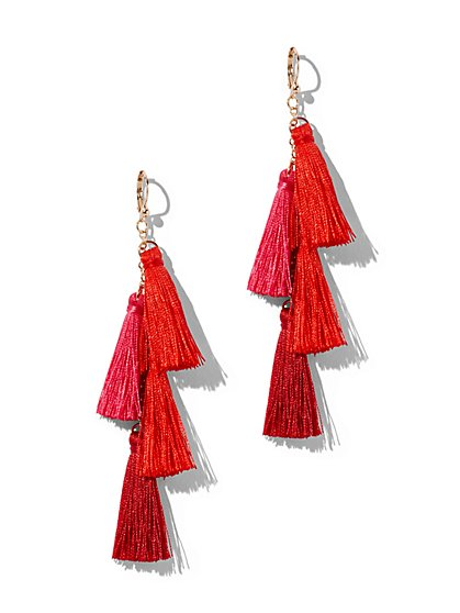 Pom Pom Earrings - New York & Company
