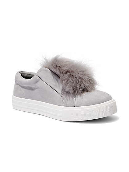 Pom-Pom Sneaker  - New York & Company