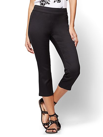 Pull-On Cropped Pant - New York & Company