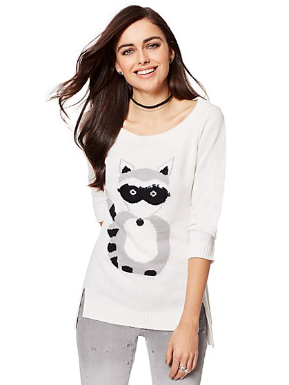 Raccoon Sweater - New York & Company