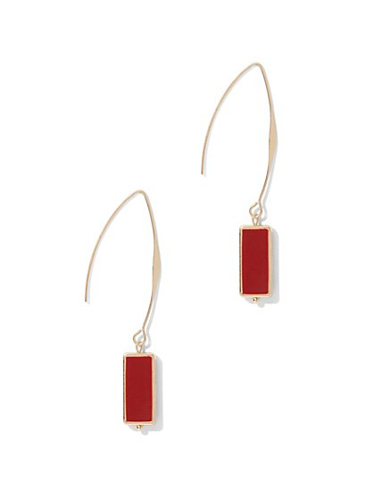 Rectangular Drop Earring  - New York & Company
