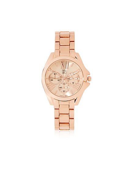 Roman Numeral Link Watch - New York & Company