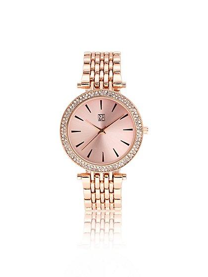 Rose Goldtone Watch - New York & Company