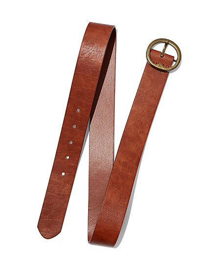 Round-Buckle Belt - New York & Company