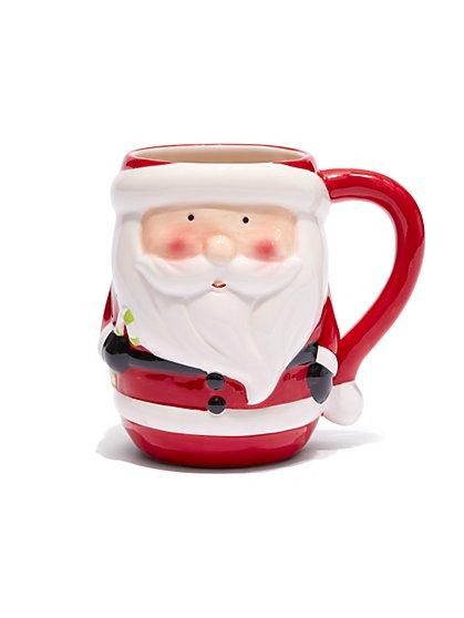 Santa Claus Ceramic Mug - New York & Company