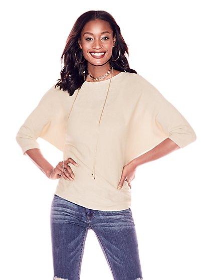 Scoopneck Dolman Sweater - New York & Company