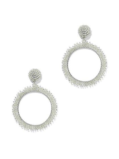 Seed Bead Drop Earring - New York & Company