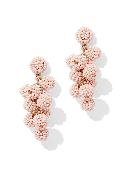 Seed Bead Spherical Drop Earring - New York & Company